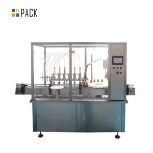 Hot verkoop Automatische fles 2 nozzle vulmachine kruid bloem etherische olie flacon Vullen Capping Machine