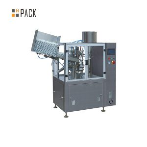 Industriële kunststof buisvulmachine voor cosmetica