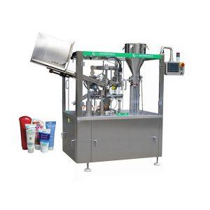 Automatische vul- en sluitmachine voor zalven met zachte huid