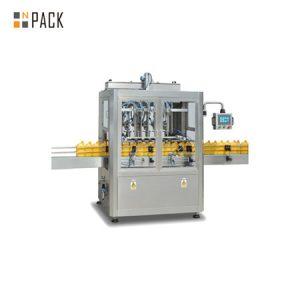Lineaire bottelmachine voor het vullen van rozenolie