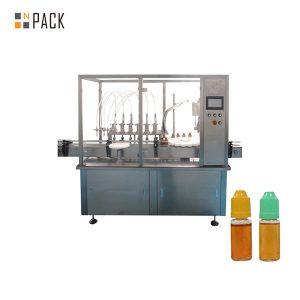 Vloeistofvulmachine voor peristaltische pomp voor kleine flacons