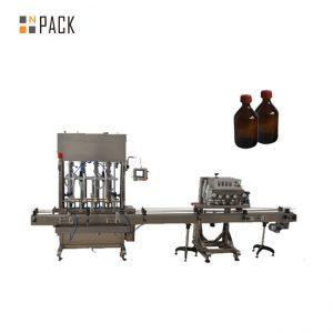 Hoge nauwkeurigheid Automatische smeerolie / smeerolie vulmachine