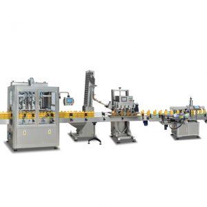 Volautomatische 2 in 1 sus304 flessenvulmachines voor het maken van olijfolie