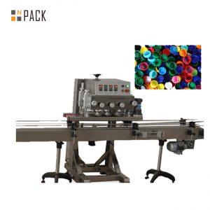 Automatische spindelflesschroefafdekkingsmachine