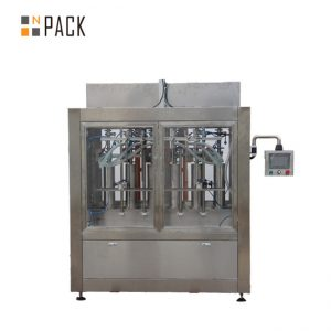 fabriek chemische vloeistof vulmachine