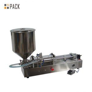 Zeer populaire ijs vulmachine / dubbele kop vulmachine / nagellak vulmachine