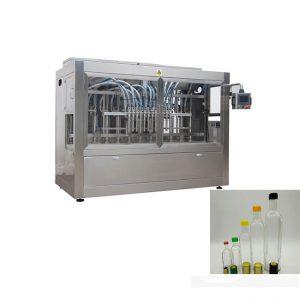 automatische glazen fles aardbeienjam saus vulmachine