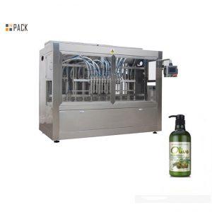 Complete automatische handvullende shampoo-vulmachine met gebotteld bad